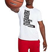 Jordan Men's Dry More Rings Graphic Basketball T-Shirt