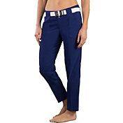 Jofit Women's Belted Cropped Printed Golf Pants
