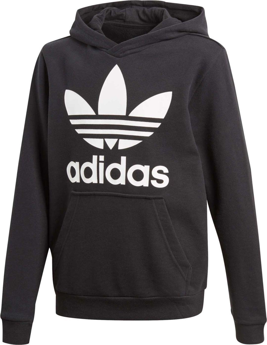 30b4297b96f63 adidas Originals Boys' Trefoil Hoodie