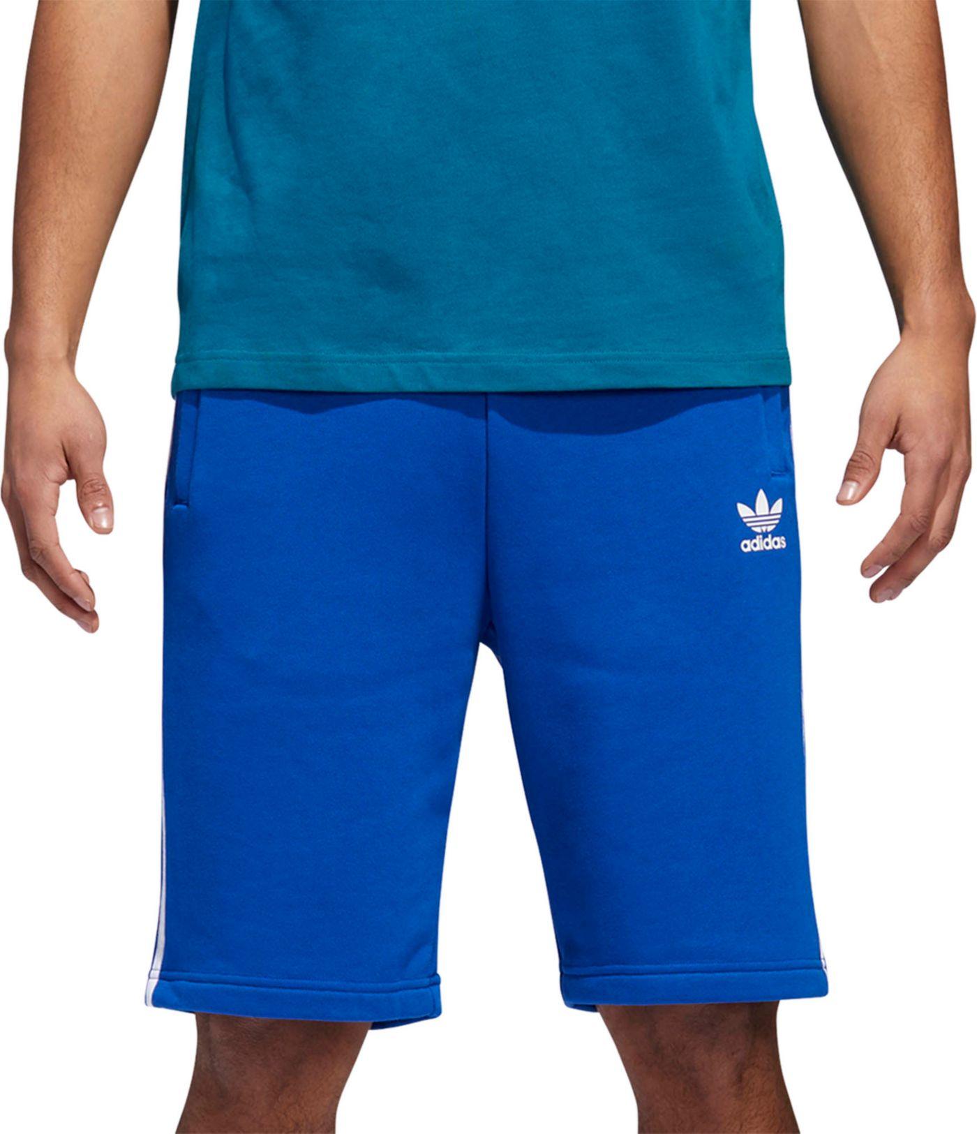 adidas Originals Men's 3-Stripe French Terry Training Shorts