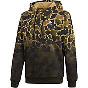 adidas Originals Men's Camo Pullover Hoodie