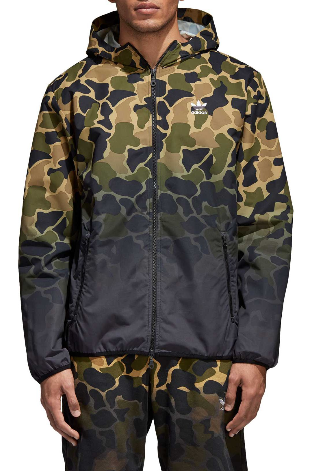 0e6bdc221d5ff3 adidas Originals Men s Camo Windbreaker Jacket 1