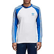 adidas Originals Men's 3-Stripe Long Sleeve T-Shirt