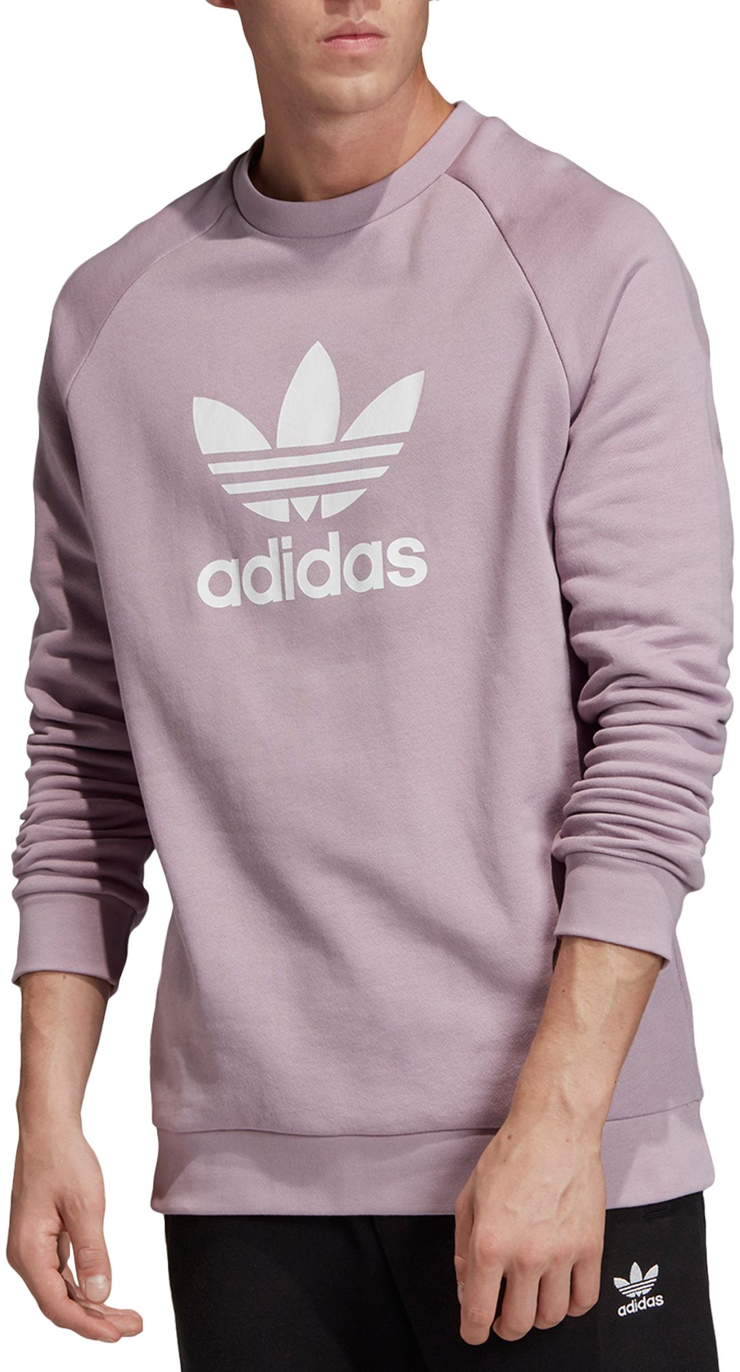 adidas Originals Men's Trefoil Crewneck Sweatshirt