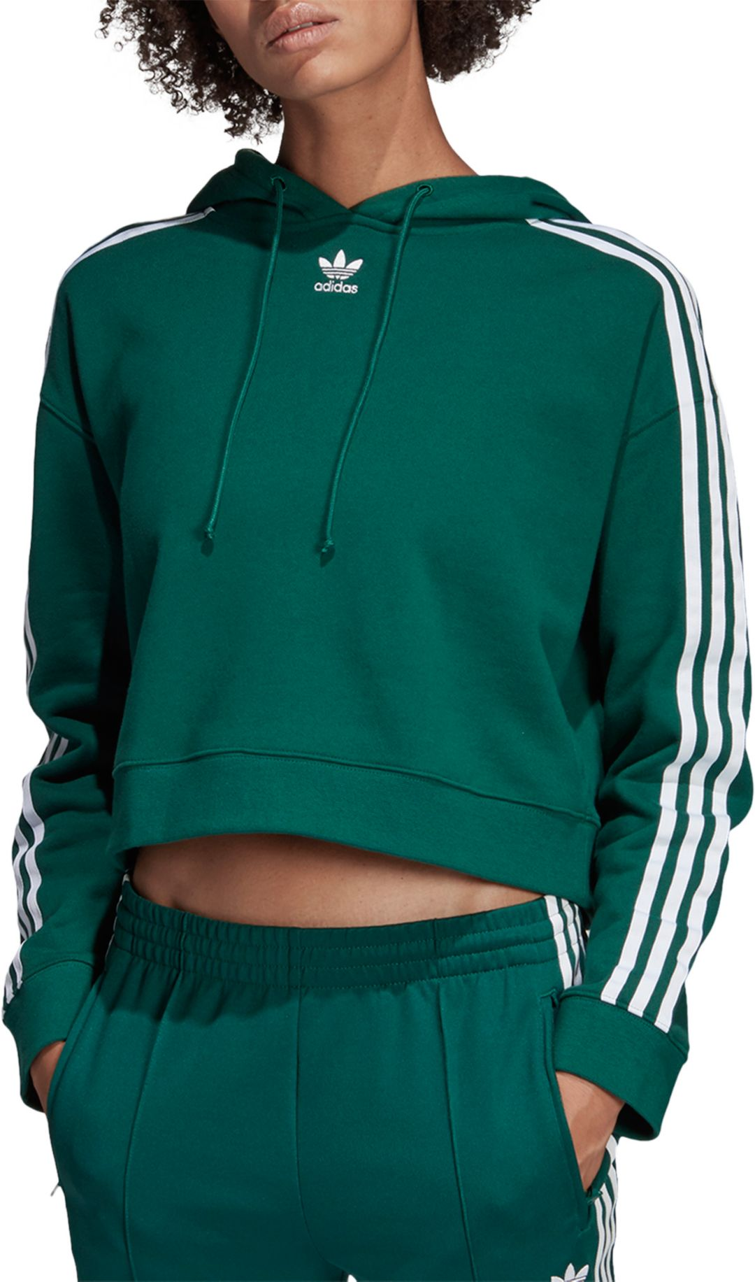 6c6d6b6243ddc adidas Originals Women's Cropped Hoodie | DICK'S Sporting Goods