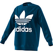 adidas Originals Women's Oversized Trefoil Crewneck Sweatshirt