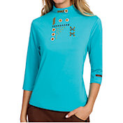 Jamie Sadock Women's Antigua 3/4-Sleeve Golf Polo