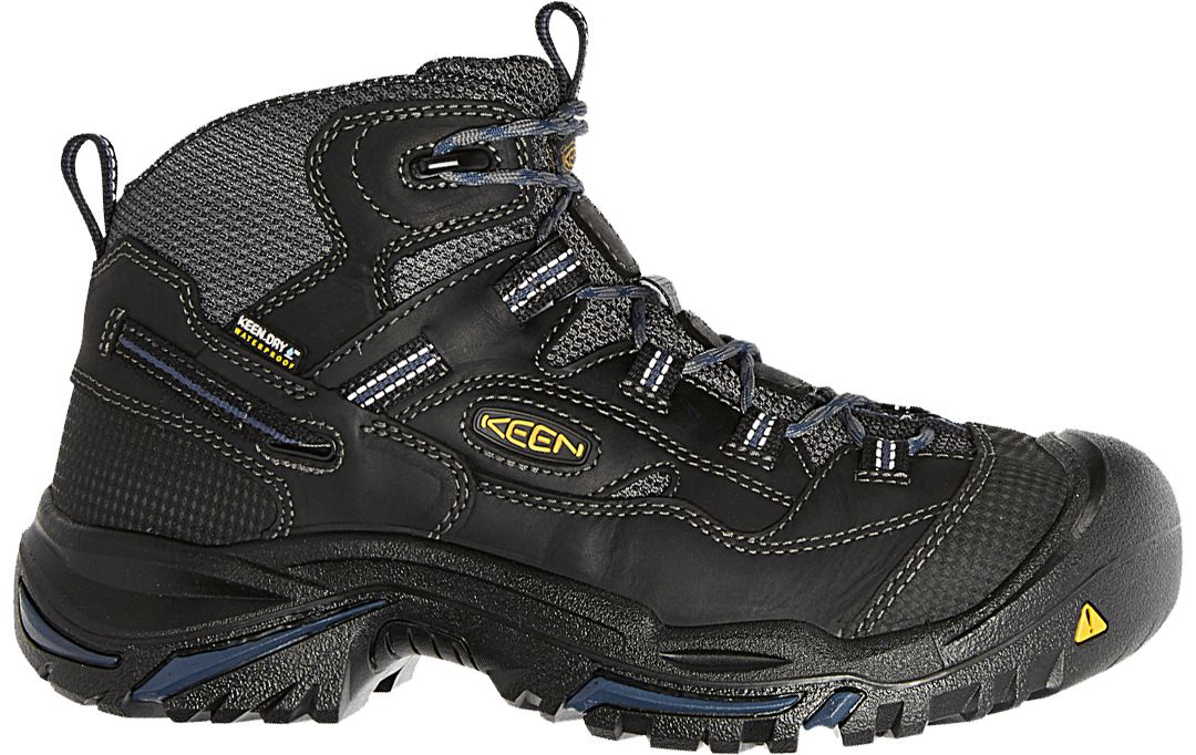 fa9f530570d KEEN Men's Braddock Mid Waterproof Work Boots