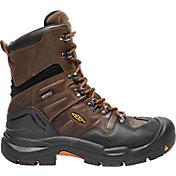 KEEN Men's Coburg 8'' Waterproof Steel Toe Work Boots