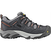 KEEN Men's Detroit Low Steel Toe Work Shoes