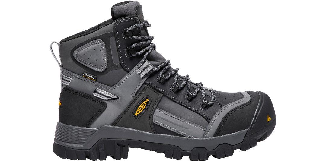 8a7a0f0b28b KEEN Men's Davenport 6'' 400g Waterproof Composite Toe Work Boots