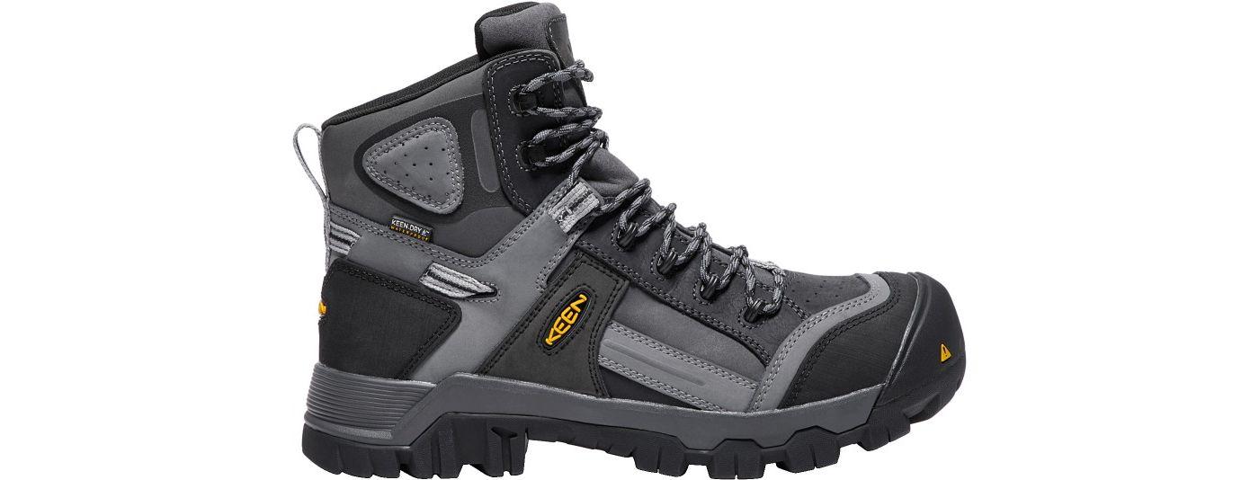 KEEN Men's Davenport 6'' 400g Waterproof Composite Toe Work Boots