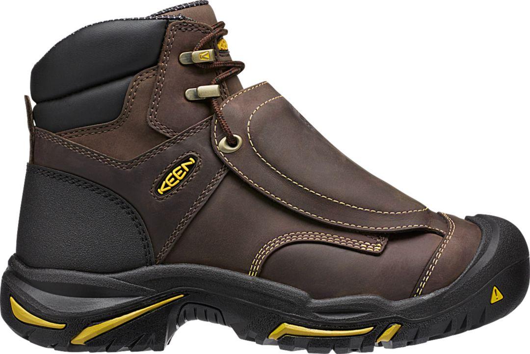 be7f7803162 KEEN Men's Mt. Vernon Metatarsal Steel Toe Work Boots