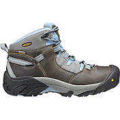 KEEN Women's Detroit Mid Waterproof Work Boots