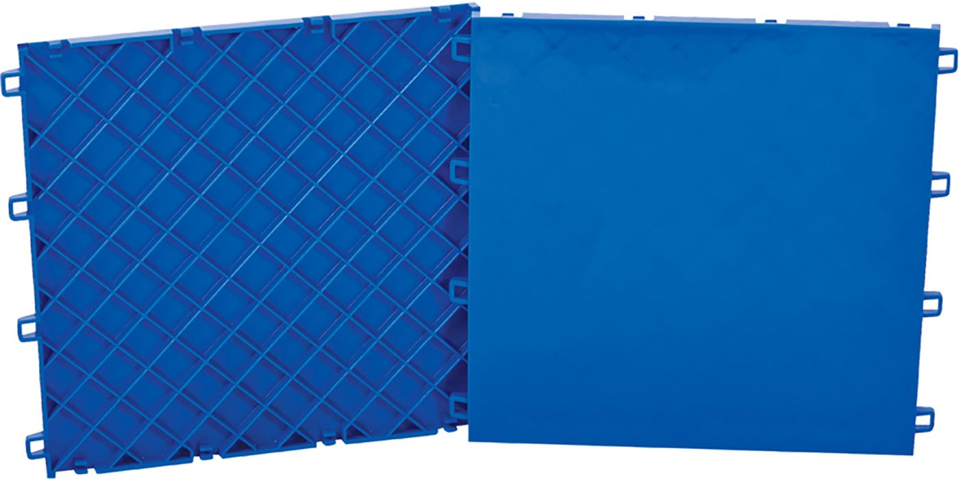 CCM Sniper's Edge Slick Blue Line Hockey Tiles – 10 Pack