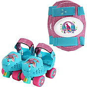 DreamWorks Trolls Girls' Roller Skates and Knee Pads