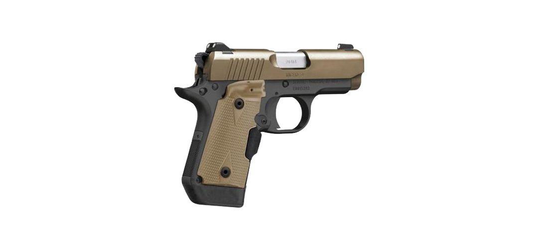 Kimber Micro 9 Pistol - Crimson Trace Laser