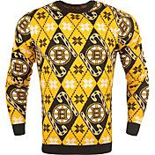 FOCO Men's Boston Bruins Candy Cane Ugly Sweater