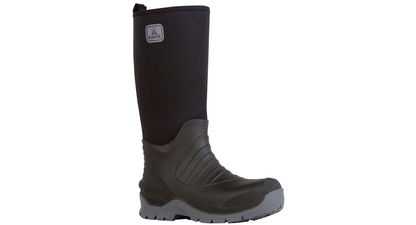 Kamik Men's Bushman Rubber Work Boots