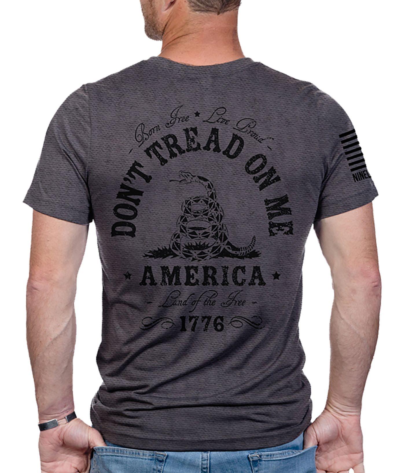 Nine Line Apparel Men's Don't Tread On Me Short Sleeve T-Shirt