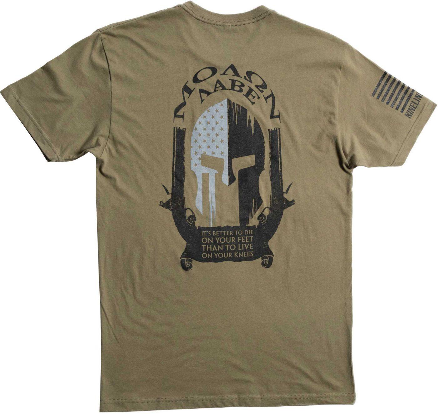 Nine Line Apparel Men's Molon Labe Spartan Short Sleeve T-Shirt