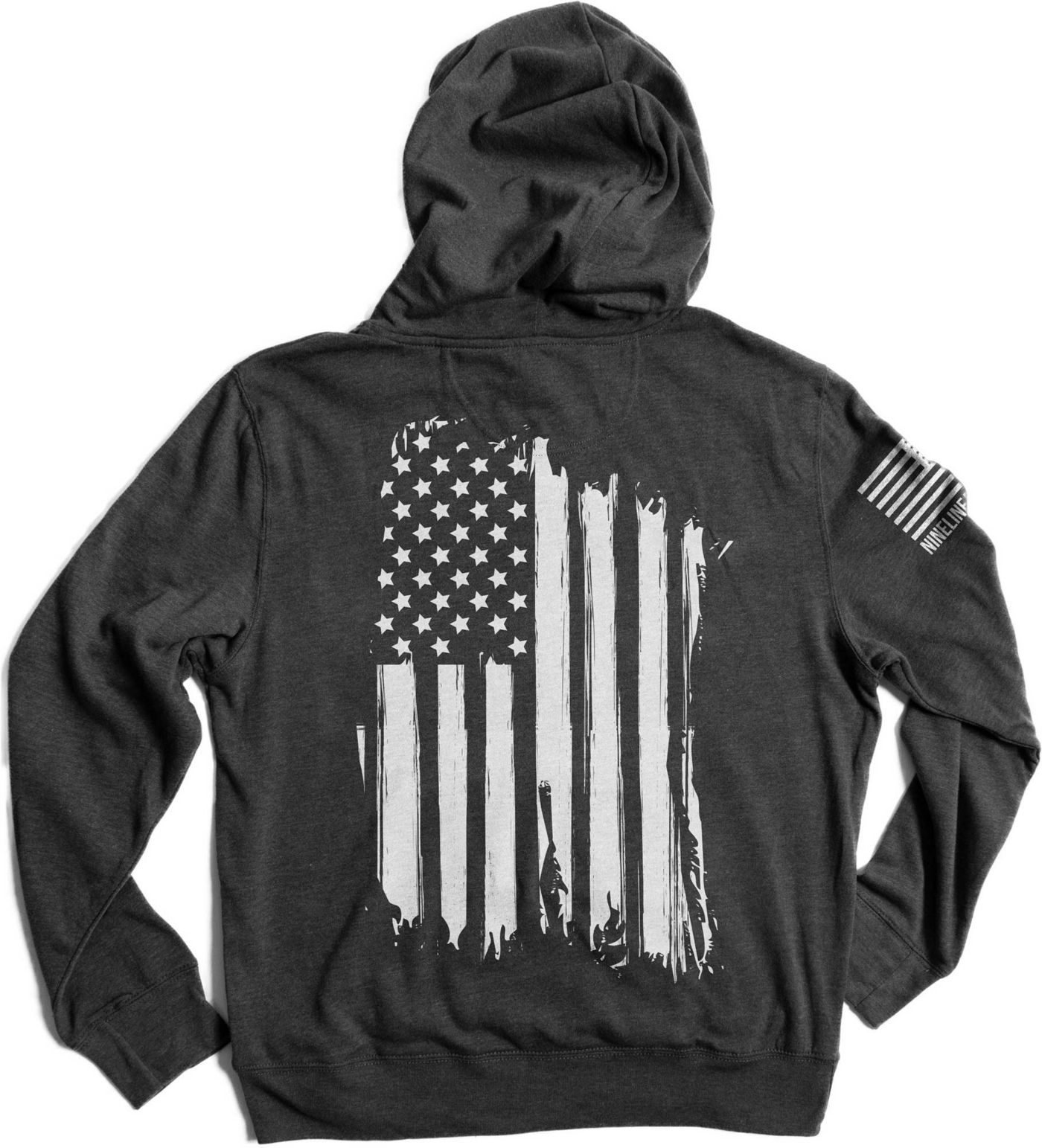 Nine Line Apparel Men's American Flag Tailgater Hoodie