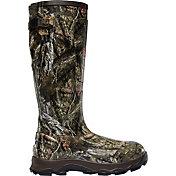 LaCrosse Men's 4XBurly 800g Mossy Oak Rubber Hunting Boots