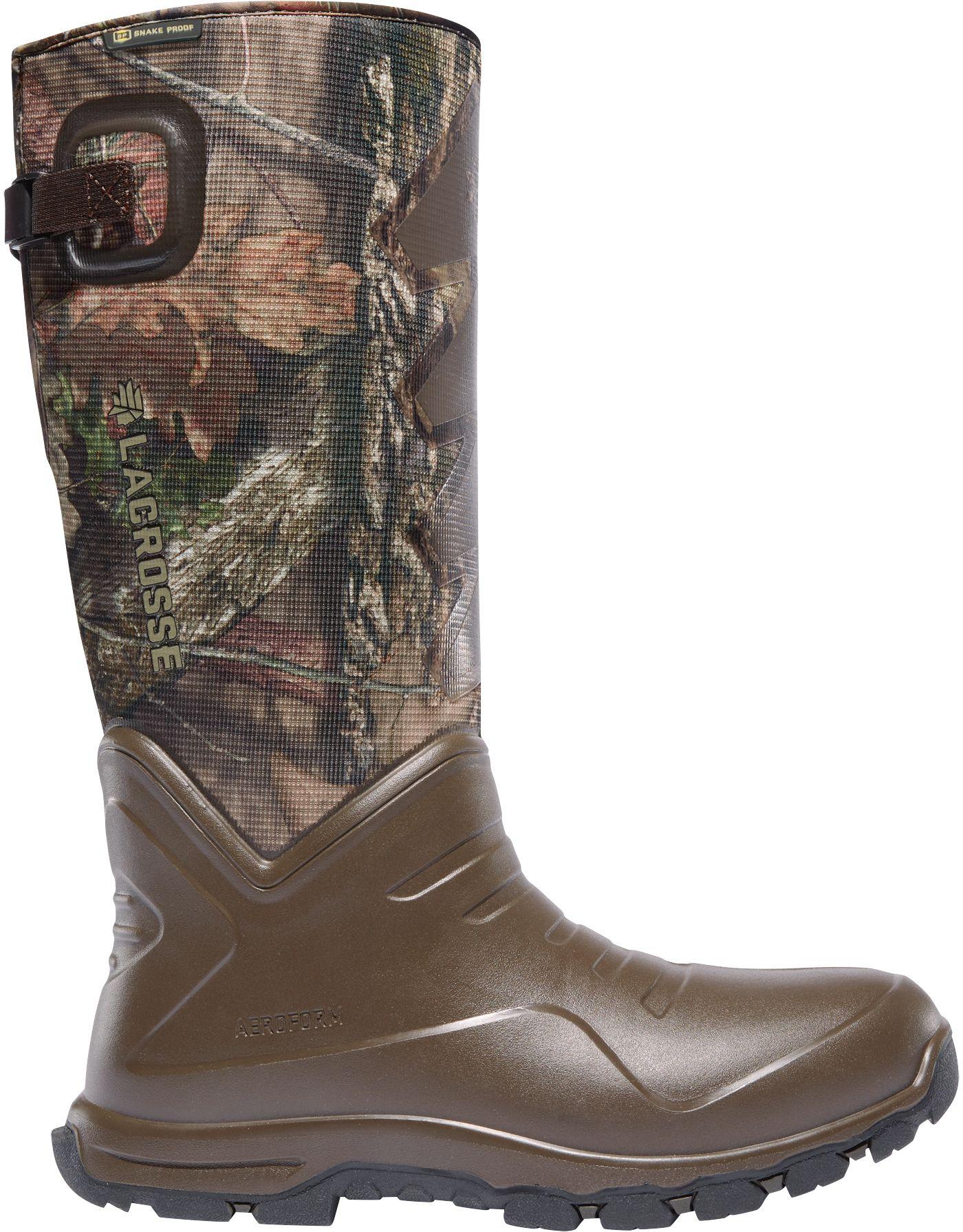 LaCrosse Men's AeroHead Sport 16'' 3.5mm Snake Boots