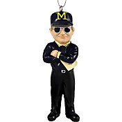 FOCO Michigan Wolverines Bo Schembechler Ornament