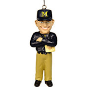 FOCO Michigan Wolverines Jim Harbaugh Ornament