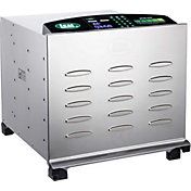 LEM Big Bite 10-Tray Digital Stainless Steel Dehydrator
