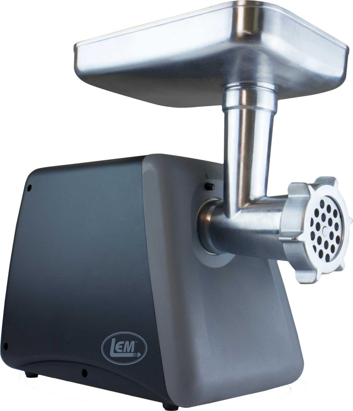 LEM 575 Watt Aluminum Countertop Grinder