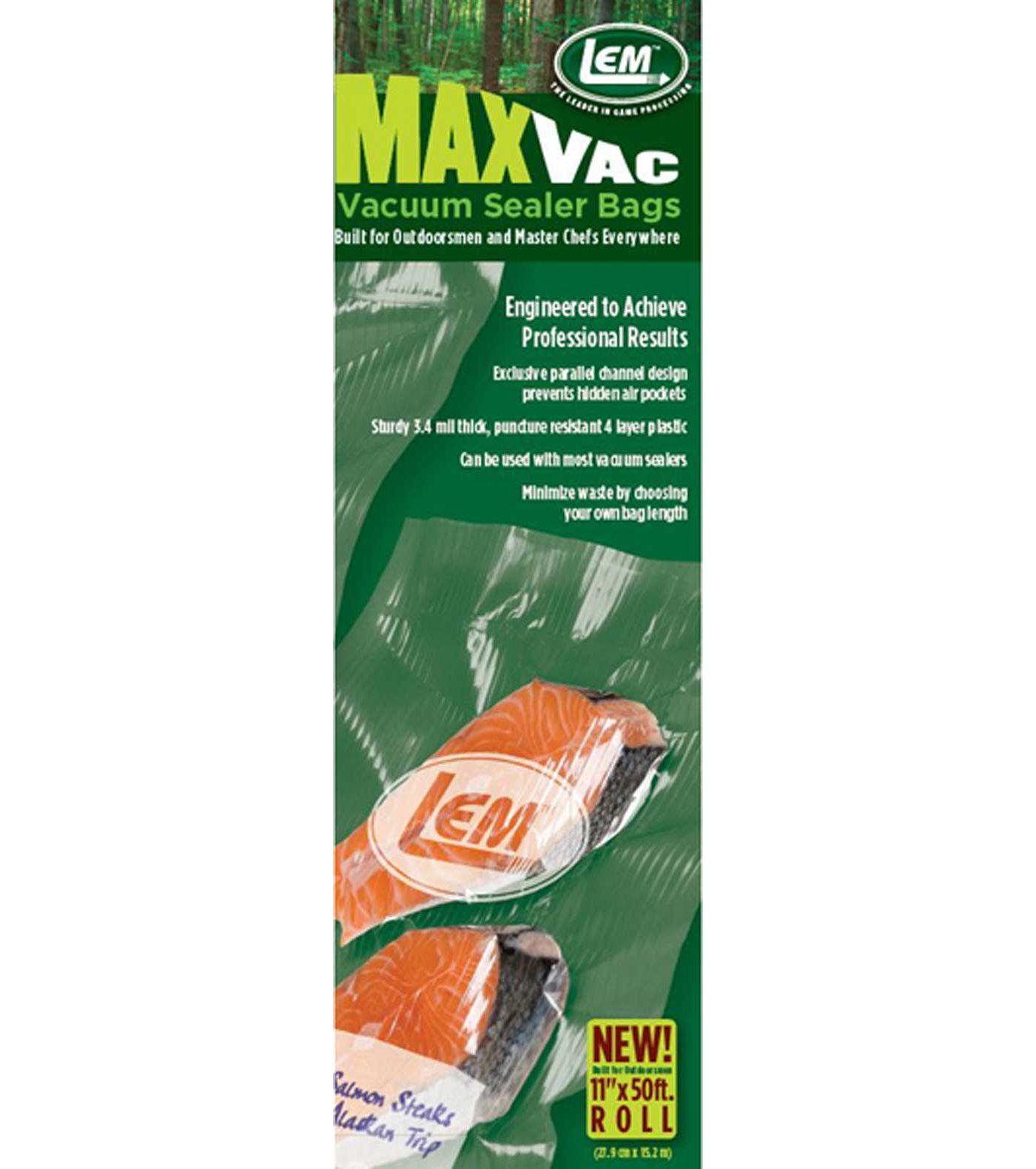 """MaxVac 11""""x 50' Vacuum Bag Material"""