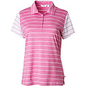 Lady Hagen Women's Paradise Found Collection Heather Stripe Golf Polo