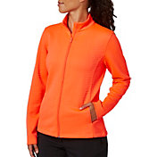 Lady Hagen Women's Textured Long Sleeve Full Zip Golf Jacket - Extended Sizes