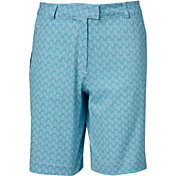Lady Hagen Women's Essentials Printed Golf Shorts – Extended Sizes