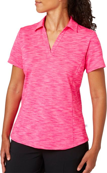 Lady Hagen Women's Essentials Space Dye Polo - Extended Sizes