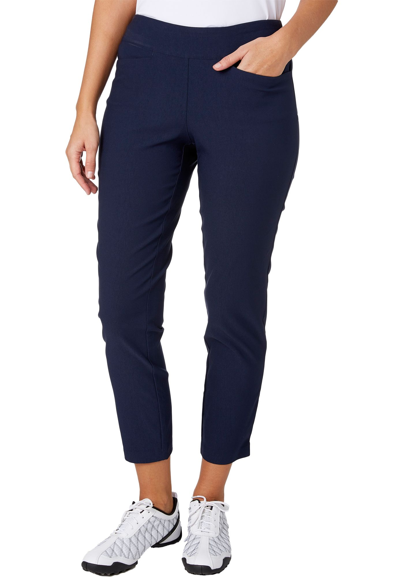 Lady Hagen Women's Easy Shaper Pull On Golf Ankle Pants