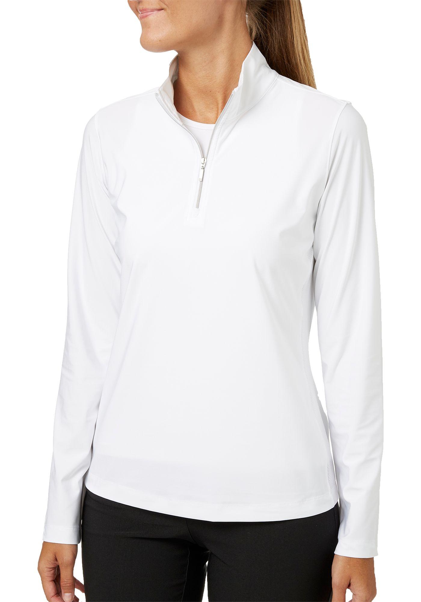 Lady Hagen Women's UV Long Sleeve Golf 1/4-Zip