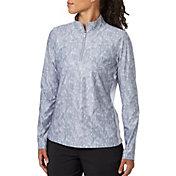 Lady Hagen Women's Printed UV Long Sleeve Golf 1/4-Zip