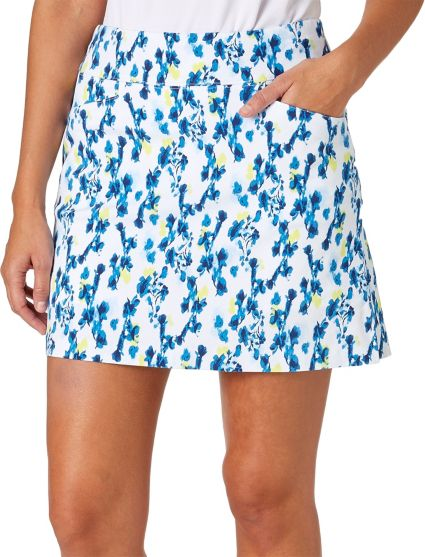 Lady Hagen Women's Watercolor Collection Floral Printed Golf Skort