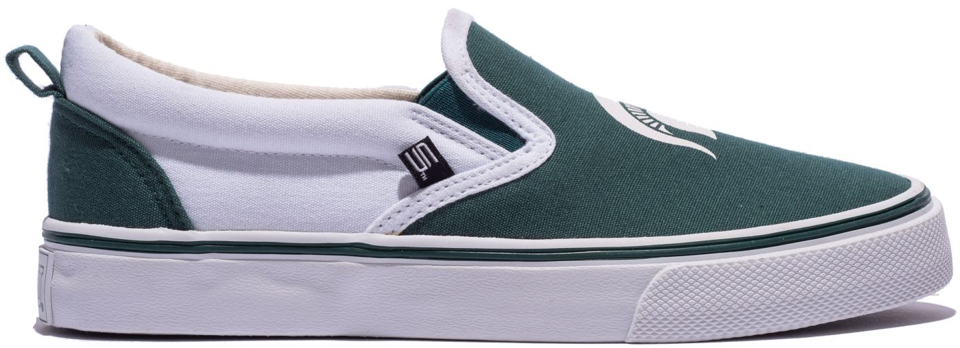 Skicks Michigan State Spartans Slip-On Sneaker