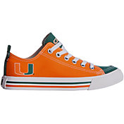 Skicks Miami Hurricanes Low Top Sneaker