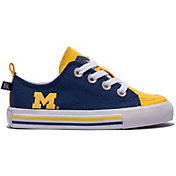 Skicks Michigan Wolverines Youth Low Top Sneaker