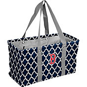 Boston Red Sox Quatrefoil Picnic Caddy