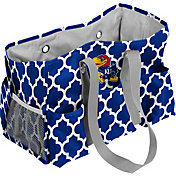 Kansas Jayhawks Quatrefoil Junior Caddy
