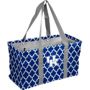 Kentucky Wildcats Quatrefoil Picnic Caddy