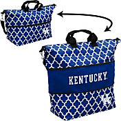 Kentucky Wildcats Quatrefoil Expandable Tote