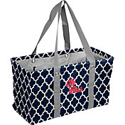 Ole Miss Rebels Quatrefoil Picnic Caddy