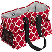 Louisville Cardinals Quatrefoil Junior Caddy